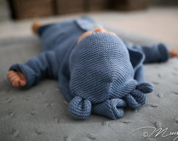 Baby's Only iso leikkimatto sopii hyvin kääntymään ja liikkumaan opettelevalle vauvalle. Leikki-ikäinen lapsi voi harjoitella matolla vaikka kuperkeikkoja!