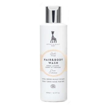 Tällä miedolla ja silmiä kirveltämättömällä shampoolla saat lastesi hiuksista silkinsileät, kiiltävät ja helposti kammattavat. Tuote toimii myös päivittäisenä suihkugeelinä ja hyvin kevyenä kylpyvaahtona.