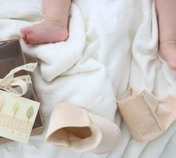 Baby's Only valkoinen kudottu viltti vauvalle