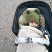 Baby's Only lämpöpussi turvakaukaloon/ vaunuihin