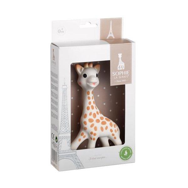 Sophie the giraffe purulelu on kevyt ja sopivan kokoinen vauvan leluksi. Vauvan on helppo tarttua kirahvin pitkään kaulaan tai jalkoihin. Täplikäs kirahvi viihdyttää vauvaa vinkumalla ja aktivoi vauvan kuuloa. Kirahvipurulelun pieniä korvia, sarvia ja jalkoja on kiva pureskella, etenkin kun vauvan hampaat tekevät tuloaan ja vauva on rauhaton ja itkuinen.