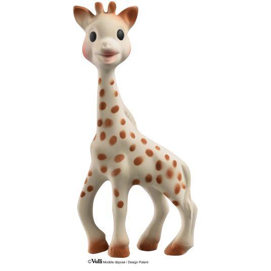 Sophie kirahvipurulelu on luonnonmukainen ja turvallinen lapselle. Kirahvipurulelu on sopivan kokoinen vauvalle ja kevyt käsitellä