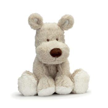 Teddykompaniet Teddy Cream beige koiranpentu on suloinen halikaveri vauvalle ja leikki-ikäisille lapsille!