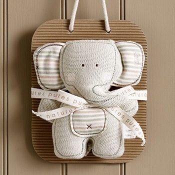 Natures Purest kudottu Elefanttihelistin vauvalle