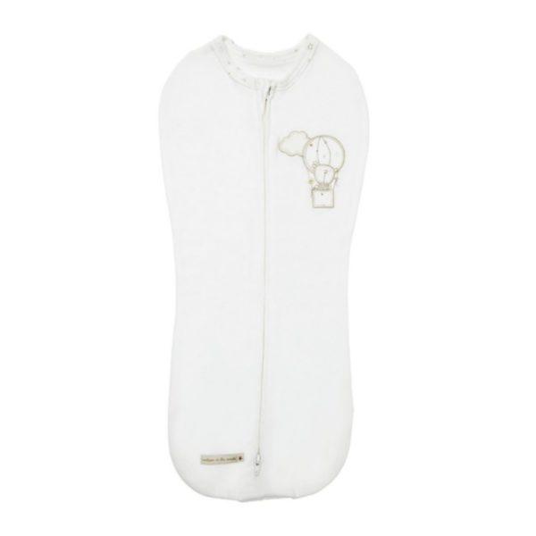 Kapalointi rauhoittaa vauvan unta ensimmäisten kuukausien aikana. Jos olet epävarma, osaatko käyttää varsinaista kapaloa, on tämä kapalounipussi hyvä ratkaisu sinulle!