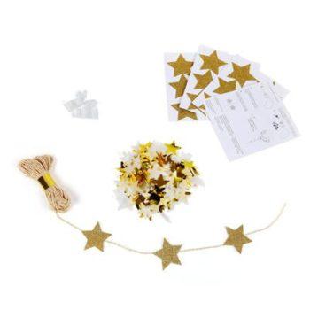 Confetti-ilmapallosetti sisältää kaiken tarvittavan, jotta saat lastenjuhliin näyttäviä, kimmeltäviä ilmapalloja!
