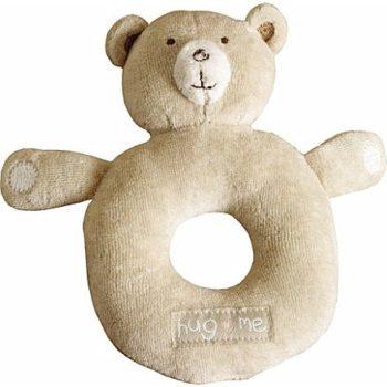 Suloinen luomulaatuinen Natures Purest nalle sopii mainiosti vauvan ensileluksi! Vauvat rakastavat pureskella nallen pieniä korvia ja tämä lelu kannustaa vauvaa heiluttamaan käsiään, palkinnoksi vauva kuulee kivan helinän! Natures Purest tuotteet ovat luonnonmukaisesta puuvillasta valmistettuja ja sopivat erityisen hyvin herkkäihoisille ja allergisille vauvoille.