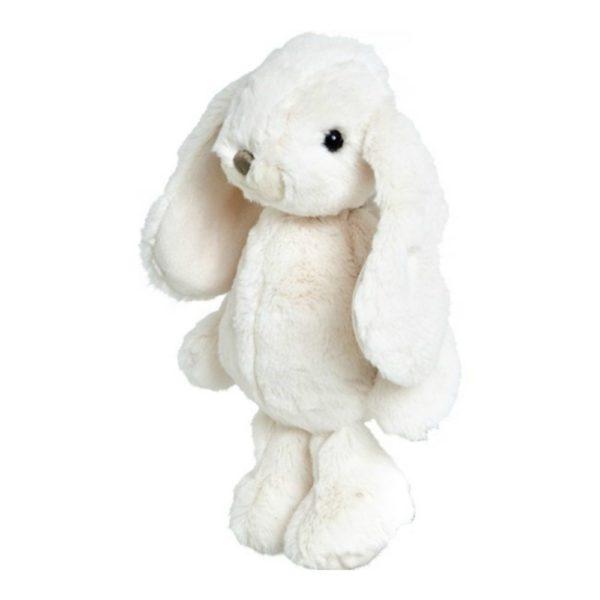 Bukowski Lovely Kanini valkoinen pehmopupu. Silkkisen sileä, suloistakin suloisempi Bukowski pupu on yksi kauneimpia vaaleansävyisiä pehmoleluja. Tästä tulee vauvan suosikki ja leikki-ikäisen lapsen hyvä kaveri. Pehmopupu sopii sekä halikaveriksi että lastenhuoneen sisustukseen. Pupu on pehmoinen ja hyvin syliin sopiva, mutta pysyy helposti myös istuma-asennossa hieman painavampien tassujensa ansiosta. Näin sen voi nostaa kauniisti hyllyn reunalle tai lipaston päälle.