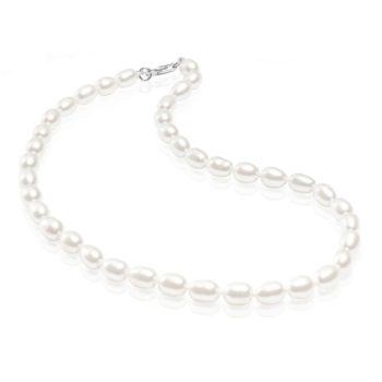 Jos haluat lahjoittaa pienen tytön ristiäispäivänä tai 1-vuotissyntymäpäivänä jotakin ajatonta ja klassista, tämä on oikea valinta. Tyylikäs helminauha on lahja, joka kulkee lapsen mukana läpi elämän. Aidot helmet säilyttävät arvonsa ja ovat aina tyylikkäät. Gaura Pearlsin kastehelmissä on huomioitu pitkä käyttöikä -helminauhan mukana tulee jatkopala, jonka avulla helmiä voi käyttää aikuisenakin. Gaura Pearls Designhelmet edustavat laadukasta käsityötä ja kaunista viimeistelyä. Helmikorut on aina valmistettu aidoista viljellyistä makeanvedenhelmistä sekä korkealaatuisesta allergiatestatusta rhodinoidusta 925 hopeasta.