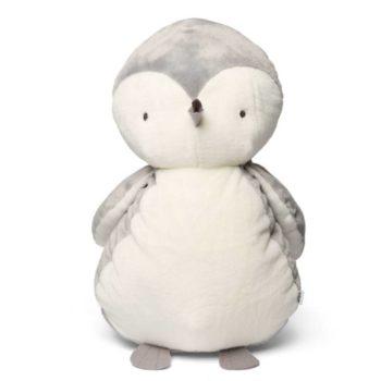 Mamas&Papas jättipehmolelu Pingviini Tämä silkkisen sileä ja pehmoinen pingviini valloittaa jokaisen lapsen sydämen! Suurta pingviinikaveria on ihana halata ja se näyttää suloiselta myös osana lastenhuoneen sisustusta!