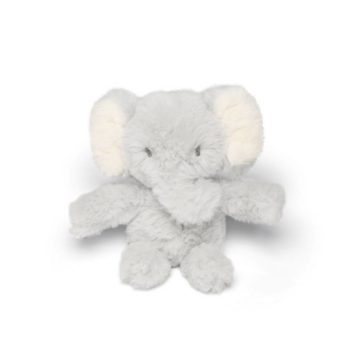Mamas&Papas pikkuelefantti pehmolelu, vaaleanharmaa Pieni vaaleanharmaa norsu on kevyt ja todella pehmoinen, joten sitä on mukava pidellä käsissä. Pörröinen elefantti on hellyyttävä näky lasten leikeissä ja osana lastenhuoneen sisustusta!