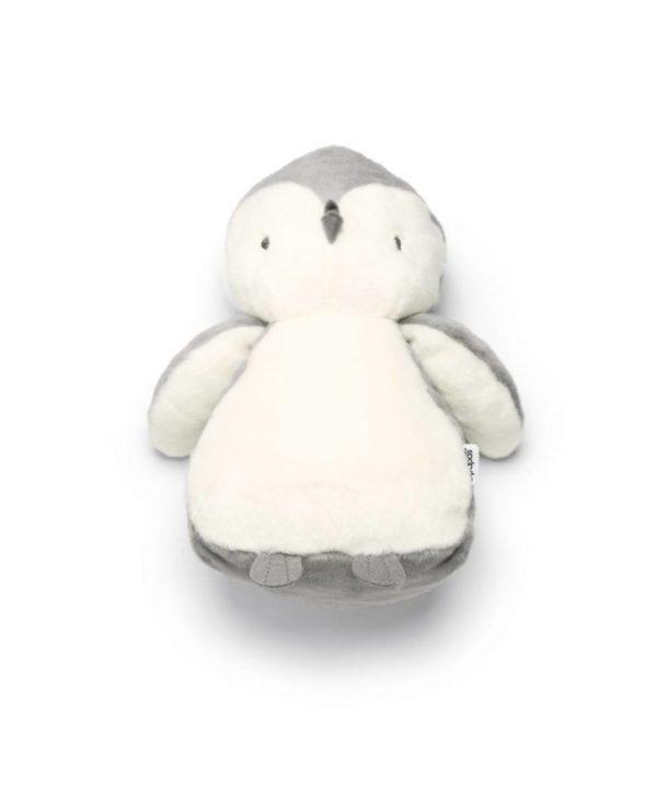 Mamas&Papas pehmeä Pingviini Supersuloinen pingviini sopii leluksi ja unikaveriksi vastasyntyneestä lähtien. Vauvat rakastavat pingviinin pyöreää olemusta -sitä on niin mukava halata! Tämä silkkisen sileä pingviini on ihana myös lastenhuoneen sisustukseen, pinnasänkyyn tai hyllyn reunalle.