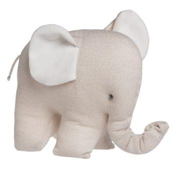 Baby's Only Sparkle Elefantti pehmolelu vauvalle, kimmeltävä beige. Baby's Only norsu on paitsi pehmoinen uni- ja leikkikaveri, on se myös kaunis koriste vauvanhuoneeseen!