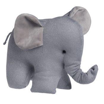 Baby's Only Sparkle Elefantti pehmolelu vauvalle, kimmeltävä harmaa. Baby's Only norsu on paitsi pehmoinen uni- ja leikkikaveri, on se myös kaunis koriste vauvanhuoneeseen!