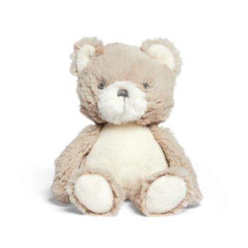 Mamas&Papasvaalea pieni pehmonalle Tally Bear Mini Supersuloinen nallekarhu sopii leluksi ja unikaveriksi vastasyntyneestä lähtien. Vauvat rakastavat nallen suloista olemusta ja lelusta saa hyvän haliotteen. Tämä silkkisen sileä nalle on ihana myös lastenhuoneen sisustukseen ja se pysyy hyvin istuma-asennossa esimerkiksi hyllyn reunalla!