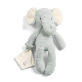 Mamas&Papas iso pehmolelu Elefantti + uniliina Supersuloinen norsu sopii leluksi ja unikaveriksi vastasyntyneestä lähtien. Vauvat rakastavat elefantin pitkiä jalkoja ja lelusta saa hyvän haliotteen. Tämä silkkisen sileä elefantti on ihana myös lastenhuoneen sisustukseen ja se pysyy hyvin istuma-asennossa esimerkiksi hyllyn reunalla!