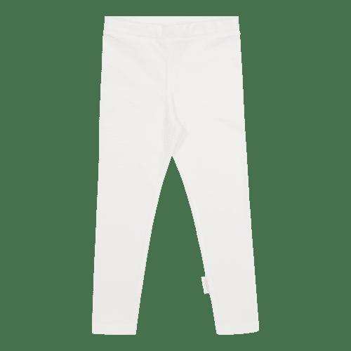 Gugguu Leggings leggingsit, sävy White Sand Pehmeät ja laadukkaat trikooleggingsit ovat mukavat päällä.Vyötäröllä on säädettävä kuminauhakiristys, jotta saat leggingsit juuri sopivankokoisiksi lapselle.