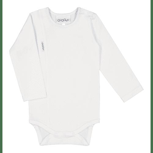Pehmeä ja laadukas Candy malliston vauvanbody on todella mukava päällä. Pitkähihaisen bodyn olkapäällä on neppari helpottamaan bodyn pukemista. Ajattoman tyylikäs body on kätevä yhdistää housuihin ja hameeseen: body pitää myös vauvan selän suojassa silloin, kun vauvaa nostetaan, eikä nouse korviin.