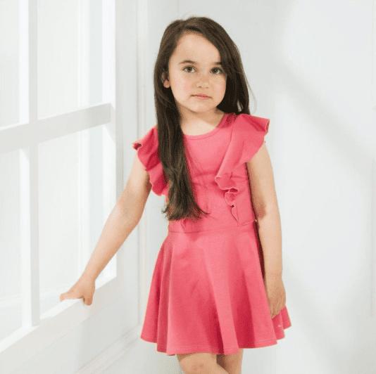 Gugguu lyhythihainen Rizi mekko lapsille