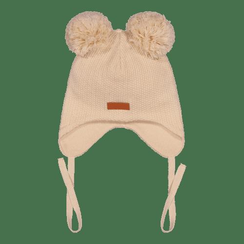 Gugguu Double Tuft Baby Beanie vauvan nauhapipo kahdella tupsulla, sävy Linen Beige Yksinkertaisen tyylikäs nauhapipo on ommeltu pehmeästä ja joustavasta kankaasta. Luomupuuvillainen pipotuntuu mukavalta lapsen päässä eikä hankaa. Hyvin istuva pipo pysyy paikallaan valumatta silmille. Tämä pipomalli suojaa korvien lisäksi tehokkaasti myös vauvan poskia!