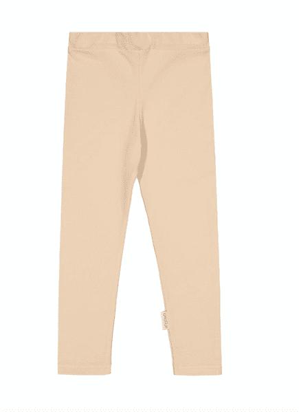 Gugguu leggingsit, sävy Linen Beige Pehmeät ja laadukkaat Natural -malliston trikooleggingsit ovat mukavat päällä.Vyötäröllä on säädettävä kuminauhakiristys, jotta saat leggingsit juuri sopivankokoisiksi lapselle. Äidit ovat kehuneet tätä materiaalia todella kestäväksi käytössä: leggingsit pitävät muotonsa ja istuvat hyvin pesu toisensa jälkeen! Kiitosta ovat saaneet myös pitkät lahkeet, jonka ansiosta leggingsienkäyttöikä on tavallista pidempi!