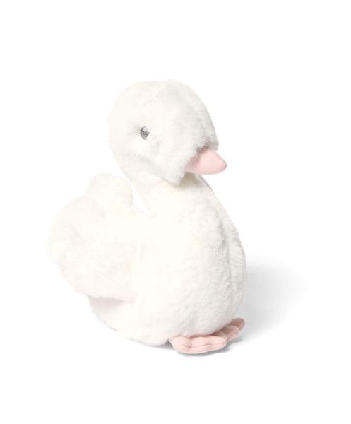 Mamas&Papas pehmolelu Joutsen,Welcome to the World Kaunis joutsen sopii leluksi ja unikaveriksi vastasyntyneestä lähtien. Tämä silkkisen sileä valkoinen joutsen on ihana myös lastenhuoneen sisustukseen ja koristeena esimerkiksi hyllyn reunalla!