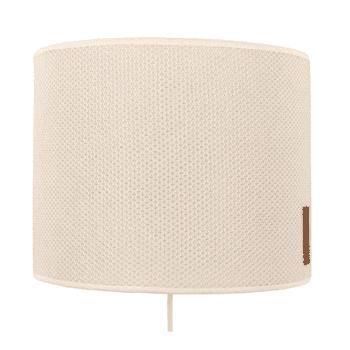 Baby's Only seinälamppu Classic Sand beige Tyylikästä valaistusta vauvanhuoneen seinään. Lampunvarjostimessa on neulottu, sileä pinta.